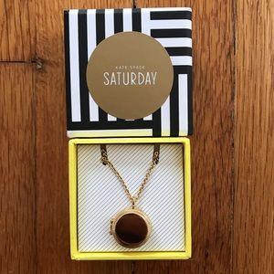 NEW Kate Spade Saturday Gold Locket